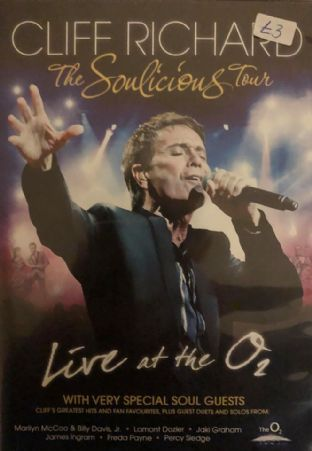 Cliff Richard - The Soulicious Tour (1) (DVD)